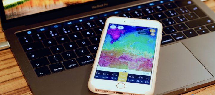 S českou aplikací Ventusky získáte nejpřesnější údaje o počasí na planetě