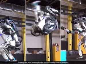 Malé salto pro robota, obrovský skok pro lidstvo: Při pohledu na robota Atlas vám spadne čelist