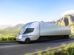 Zrychlení jako dvoumístný sporťák. Tesla ukázala budoucnost nákladní dopravy