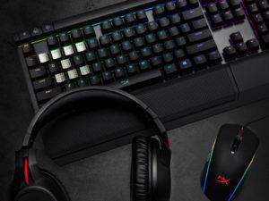 Novinky od HyperX: Bezdrátový headset, špičková klávesnice a myš hrající všemi barvami