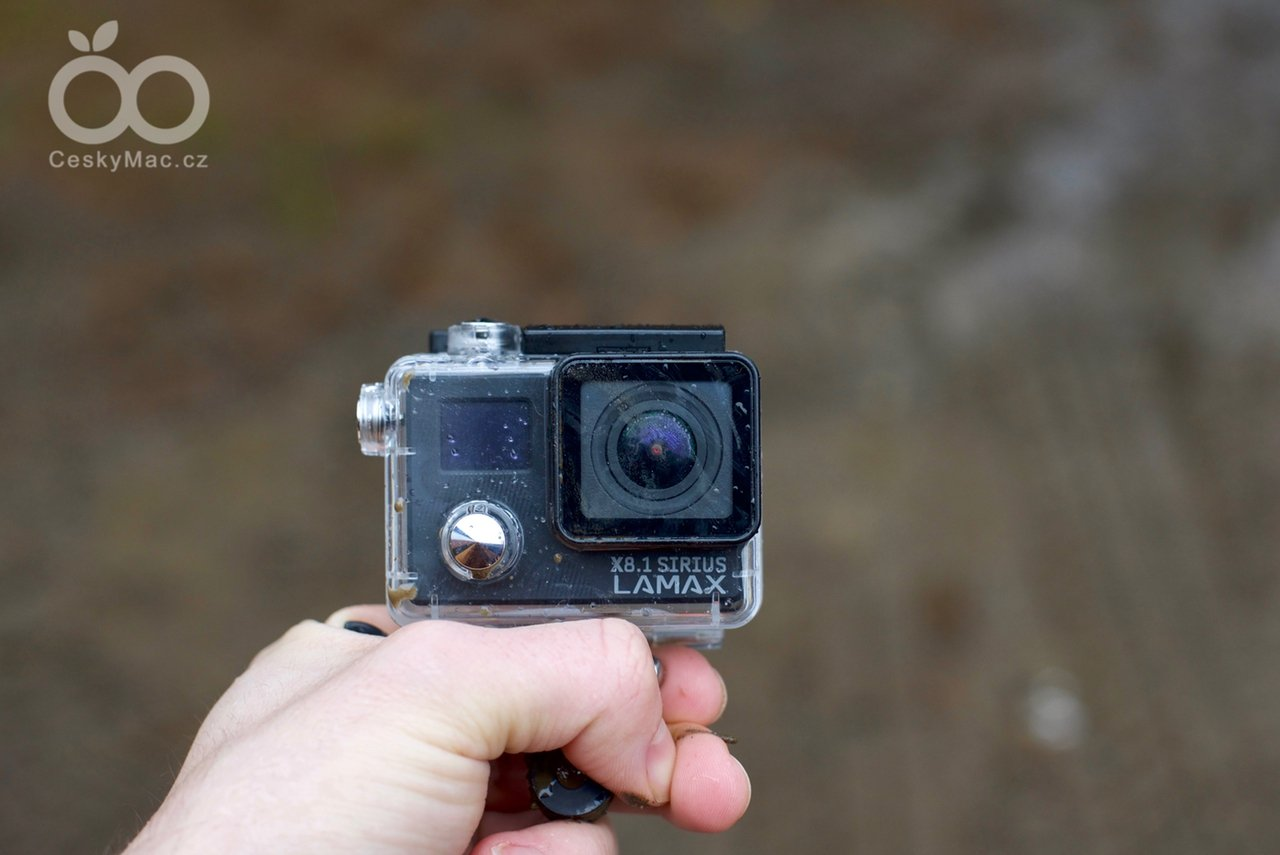 Recenze akční kamery Lamax X8.1 Sirius: Za málo peněz hodně muziky
