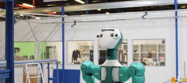 Internetový supermarket představil prototyp robota, který bude dělat poskoka údržbářům