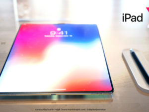 Nová generace tabletu iPad Pro si vezme to nejlepší z iPhone X