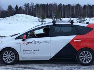 Samořiditelné auto Yandexu se dokázalo úspěšně proplést ulicemi zasněžené Moskvy