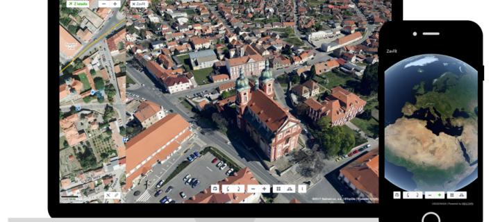 Mapy.cz od Seznamu rozšířily 3D zobrazení do dalších českých měst