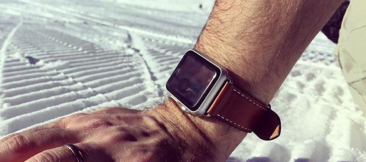 Apple Watch Series 3 dostaly s poslední aktualizací podporu pro zimní sporty