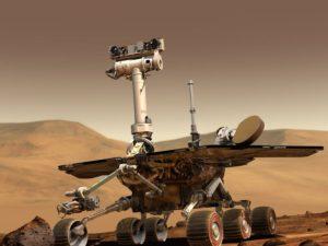 Sonda Opportunity se po Marsu prohání už 5 tisíc dní. Původně měla vydržet jen jednu zimu
