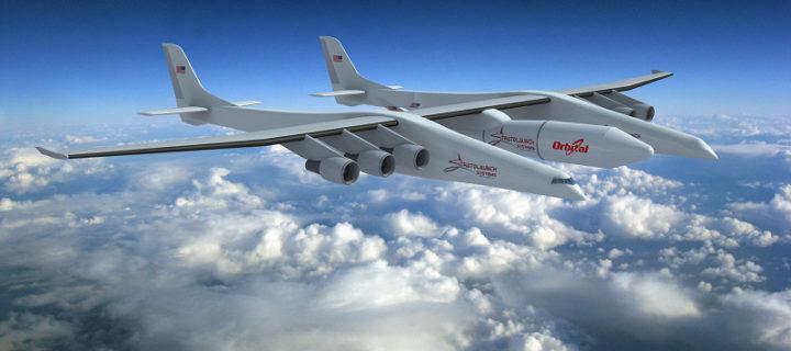 Svět má nové největší letadlo na světě. Obří kolos bude sloužit jako odpaliště raket