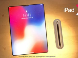 Apple v červnu představí zbrusu nový iPad Pro s tenčími rámečky a Face ID