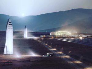 SpaceX plánuje příští rok začít s testováním raketového systému pro lety na Mars