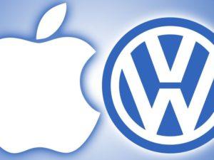 Apple navázal partnerství s VW. Společně se pustí do vývoje samořiditelného automobilu