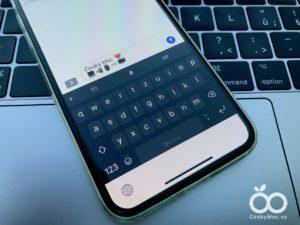 Klávesnice SwiftKey pro iOS z vás udělá mistra ve psaní na dotykové klávesnici