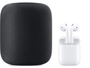 Apple chystá na příští rok prémiovou verzi AirPods a vylepšený HomePod