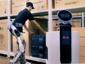 Nový exoskelet od LG propůjčí člověku nadlidské schopnosti